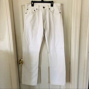 LEVIES vintage high waisted white denim jeans 31
